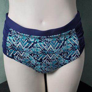 Tart Collections Swimwear High Waist Bikini Blue S